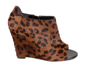 Nina Yaneli leopard bootie