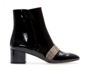 block heel ankle boot alt side