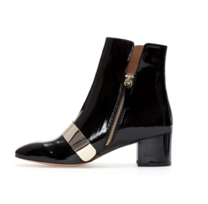 block heel ankle boot side