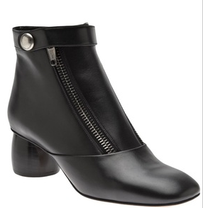 marc jacobs double zip ankle boot