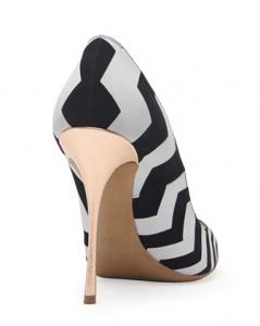 Nicholas kirkwood metallic heel