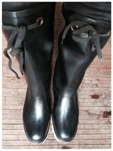 Marc Jacobs rain boots snapshot