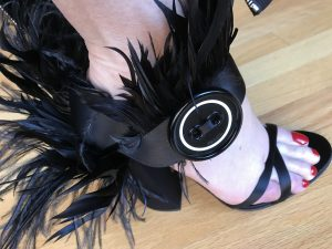 Prada feather