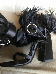 Prada feathers